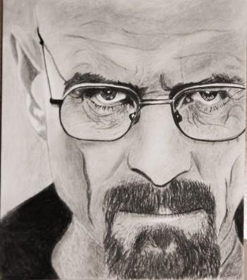 Walter White - Sketching | Phil Smith | Touchtalent
