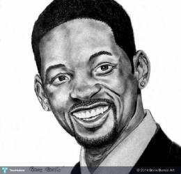 Will Smith - Sketching | Boris Borsic Art   | Touchtalent