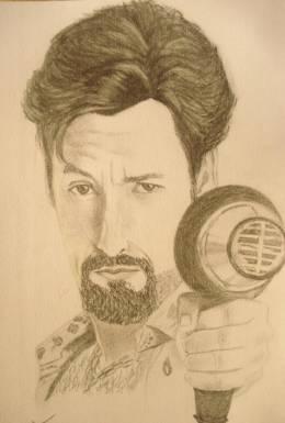 ZOHAN (Adam Sandler) - Sketching | Utsav Bajracharya | Touchtalent