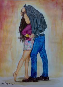 Aashiqui 2 - Painting | Hutansh Artist | Touchtalent
