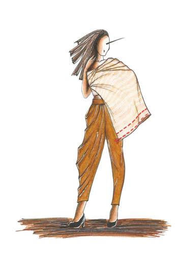 Fashion 2017 july - Fashion Illustration1 Design Snigdha Choudhary