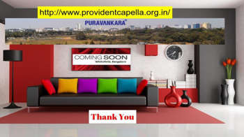 Http://www.providentcapella.org.in/ - Provident Capella Bangalore - Digital Art | Provident Housing Limited Bangalore | Touchtalent