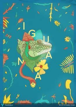 Iguana - Digital Art | Renko Marron | Touchtalent