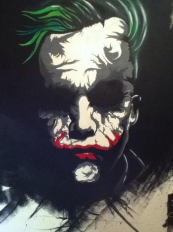 Joker - Graffiti | Illumination Wallart | Touchtalent