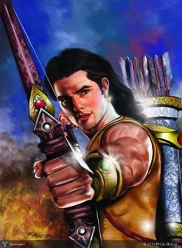 Karna,digital Art - Digital Art | Pr Biju Bichus | Touchtalent