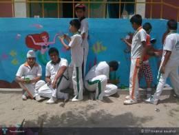 Little Wall Artist From Ma School - Graffiti   Kamal Kaushal   Touchtalent