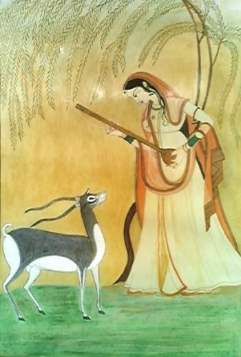 Miniature - Painting   Rekha Singh   Touchtalent
