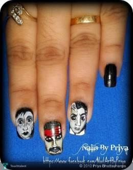 Movie Nails - Fashion   Priya Bhattacharrya   Touchtalent