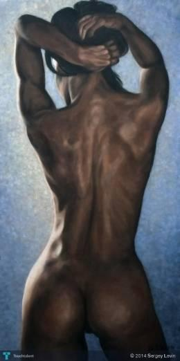 Nude - Painting | Sergey Levin | Touchtalent