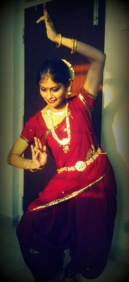 performed lavani (marathi dance)