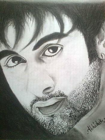 Ranbir Kapoor - Painting | Abhishek Barnwal | Touchtalent