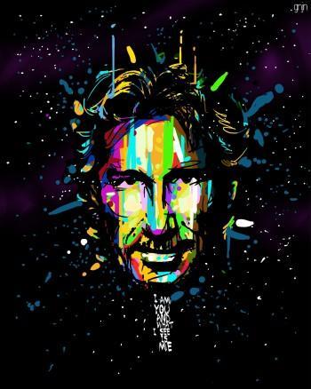 Rogerwaters - Digital Art | Gunjan Ashtaputre | Touchtalent
