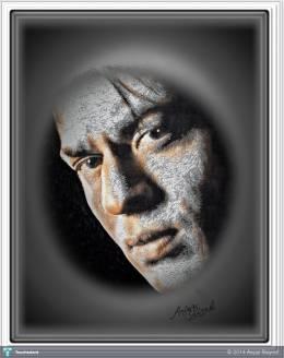 Shahrukh Khan SRK - Digital Art | Aejaz Saiyed | Touchtalent
