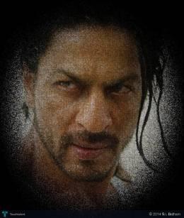 Sharukh Khan - Digital Art   S.l. Batham   Touchtalent