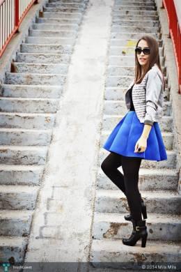 Silver Jacket - Fashion | Mila Mila | Touchtalent