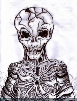 Skelealien - Animation | James Fell | Touchtalent