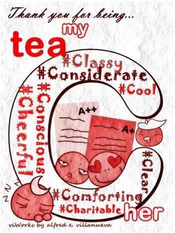 Tea'C'her - Digital Art | Alfred E. Villanueva | Touchtalent