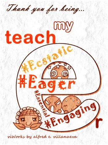 Teach'E'r - Digital Art | Alfred E. Villanueva | Touchtalent