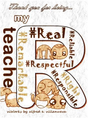 Teache'R' - Digital Art | Alfred E. Villanueva | Touchtalent