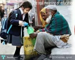 The Real Meaning Of Education.... - Photography   Simak  Ajmal   Touchtalent
